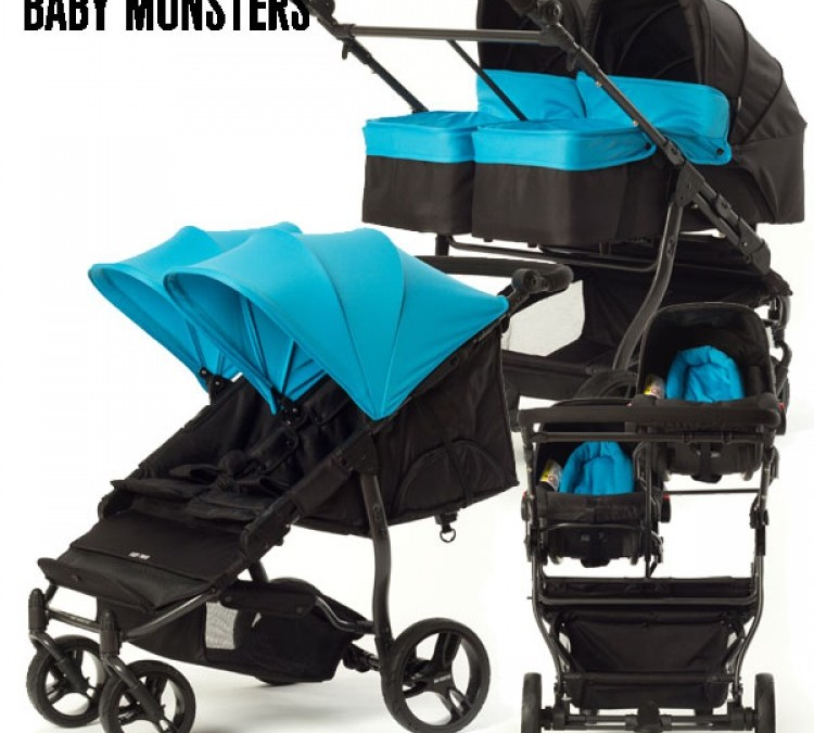 TRIO GEMELLARE EASY TWIN 3.0 BABY MONSTER